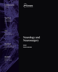 Neurology and Neurosurgery 2015 Year in Review