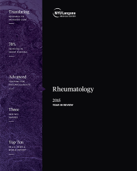 Rheumatology 2015 Year in Review