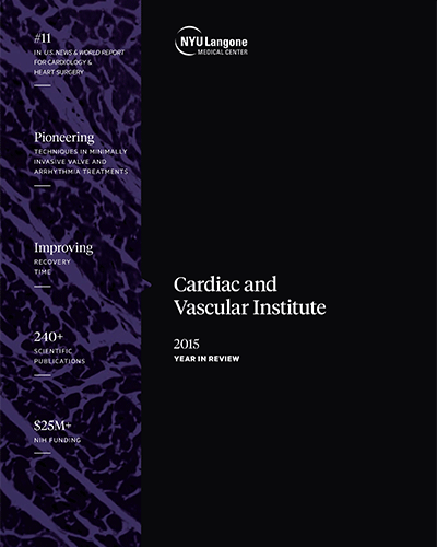 Cardiac & Vascular Institute 2015 Year in Review