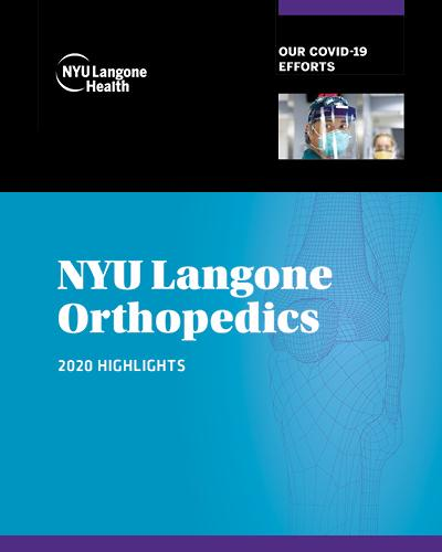 Orthopedic Surgery Highlights 2020–2021 Cover